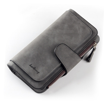 Women Wallets Name Engrave Fashion Long Leather Top Quality Card Holder Classic Female Purse  Zipper  Wallet For Women 24