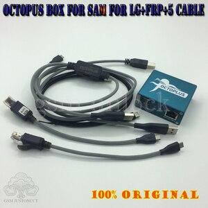 Image 4 - Gsmjustoncct polvo caixa/octoplus caixa + frp actived + ativado completo para lg para sam + 5 cabos incluindo optimus cabo