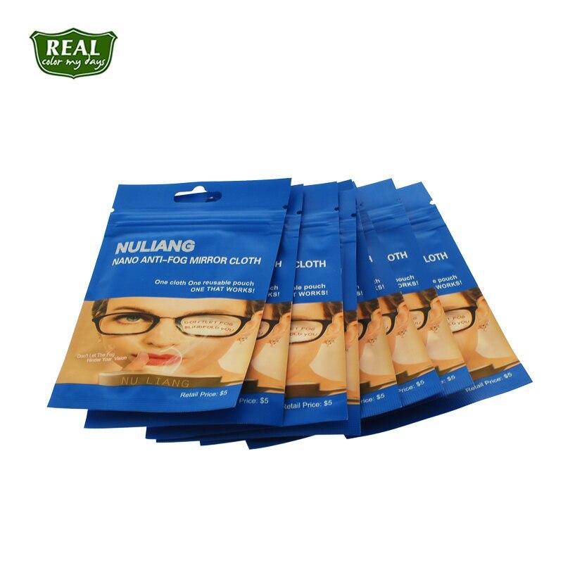 Oem lentes antiniebla paño limpiador de gafas de tela 20 pcs