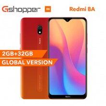 """Globalna wersja Xiaomi Redmi 8A 32GB ROM 2GB RAM telefon komórkowy Snapdragon 439 Octa Core 6.22 """"5000mAh 12MP aparat Smartphone"""