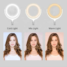 12inch Rotate 360 degrees Dimmable LED Selfie Ring Light ringlight Lamp Video Camera Phone Live Fill Light(China)