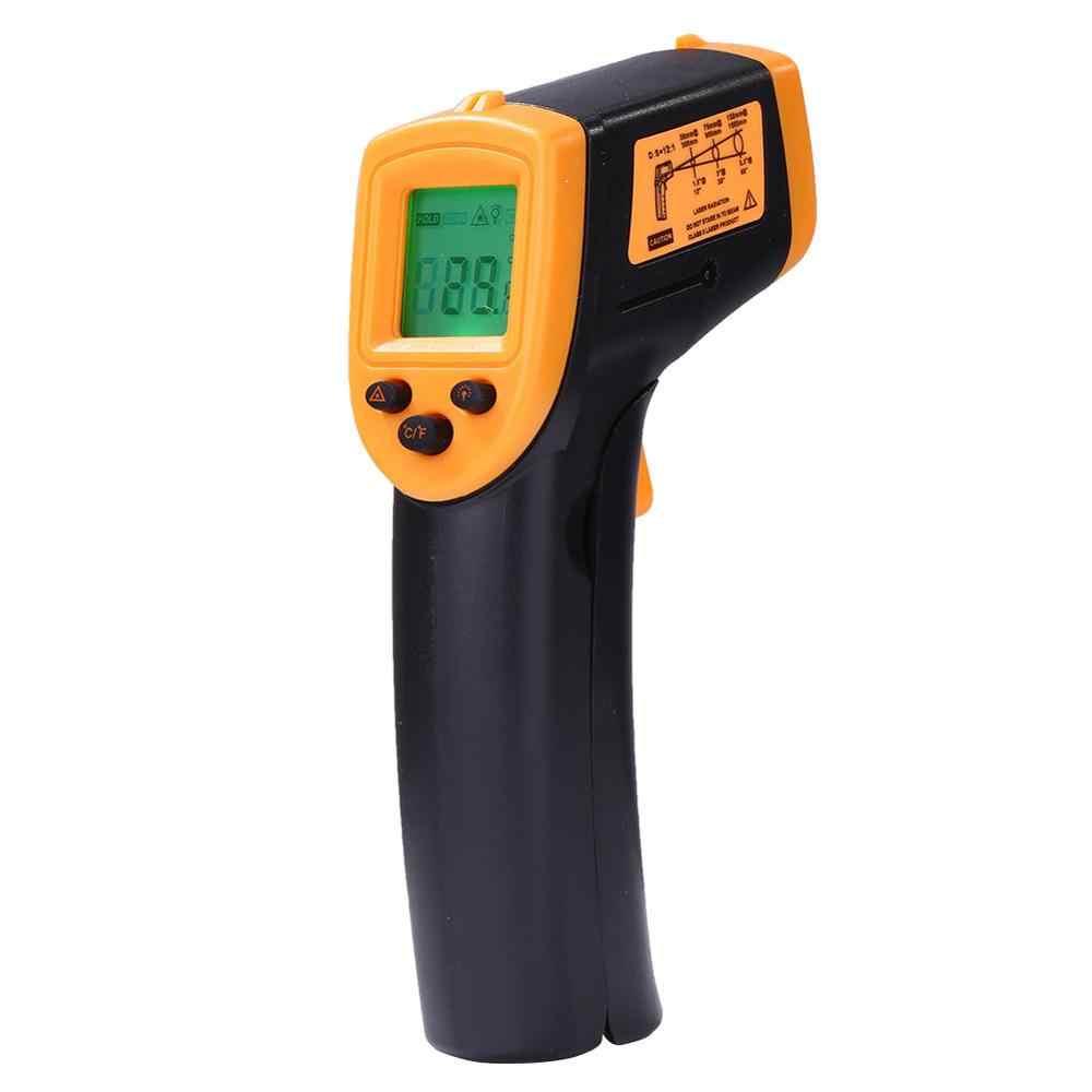 Non-Contact Infrared LCD Monitorเครื่องวัดอุณหภูมิอินฟราเรดเครื่องวัดอุณหภูมิอินฟราเรดเลเซอร์ที่แม่นยำดิจิตอลสำหรับGM320 (ไม่มีแบตเตอรี่)