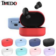 IMIDO Bluetooth Wireless Earphone Case For Xiaomi Redmi Airdots Protective Cover Silicone for Charging Box