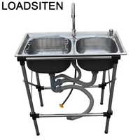Umywalka Banheiro Spoelbak Dissipador Portable Cuba Para Lavandino Kitchen De Cocina Lavabo Pia Cozinha Fregadero Dishwash Sink