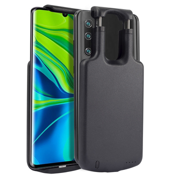 5000mAh Battery Charger Case  For Xiaomi Mi Note 10 Extensible Detachable Buckle Backup Powerbank Cover For Xiaomi Note 10|Battery Charger Cases| |  -