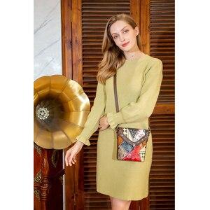 Image 3 - MVA lüks çanta kadın/bayan hakiki deri çantalar küçük kadın/kadın omuz çantaları klasik postacı çantaları kadınlar için 86388