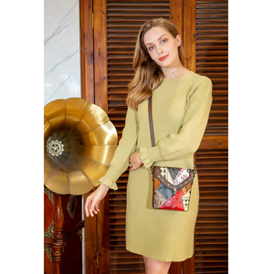 Image 3 - Mva bolsa de luxo bolsas de couro genuíno das mulheres/senhoras pequenas bolsas de ombro do vintage crossbody sacos para as mulheres 86388