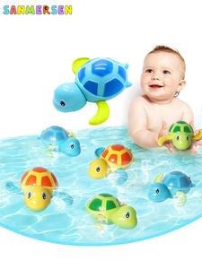 Water-Toy Frog Tortoise Baby Float Clockwork Animal Swim-Turtle Infant Kids Beach Chain