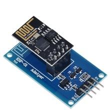 TZT ESP8266 ESP 01 Serial WiFiอะแดปเตอร์ไร้สายโมดูล3.3V 5V Esp01 Breakout PCBอะแดปเตอร์สำหรับArduino