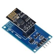 TZT ESP8266 ESP 01 szeregowy WiFi Adapter bezprzewodowy moduł 3.3V 5V Esp01 Breakout PCB adaptery kompatybilny dla Arduino