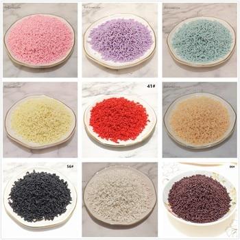 100 g/bolsa Slime Multi Arcilla De Colores Sprinkles relleno Juguetes Accesorios caramelo tarta falsa postre barro Decoración