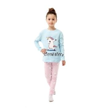 100 Cotton Boys and Girls Long Sleeve Pajamas Sets Children's Sleepwear Kids Christmas Pijamas Infantil Homewear Nightwear - PA12, 8