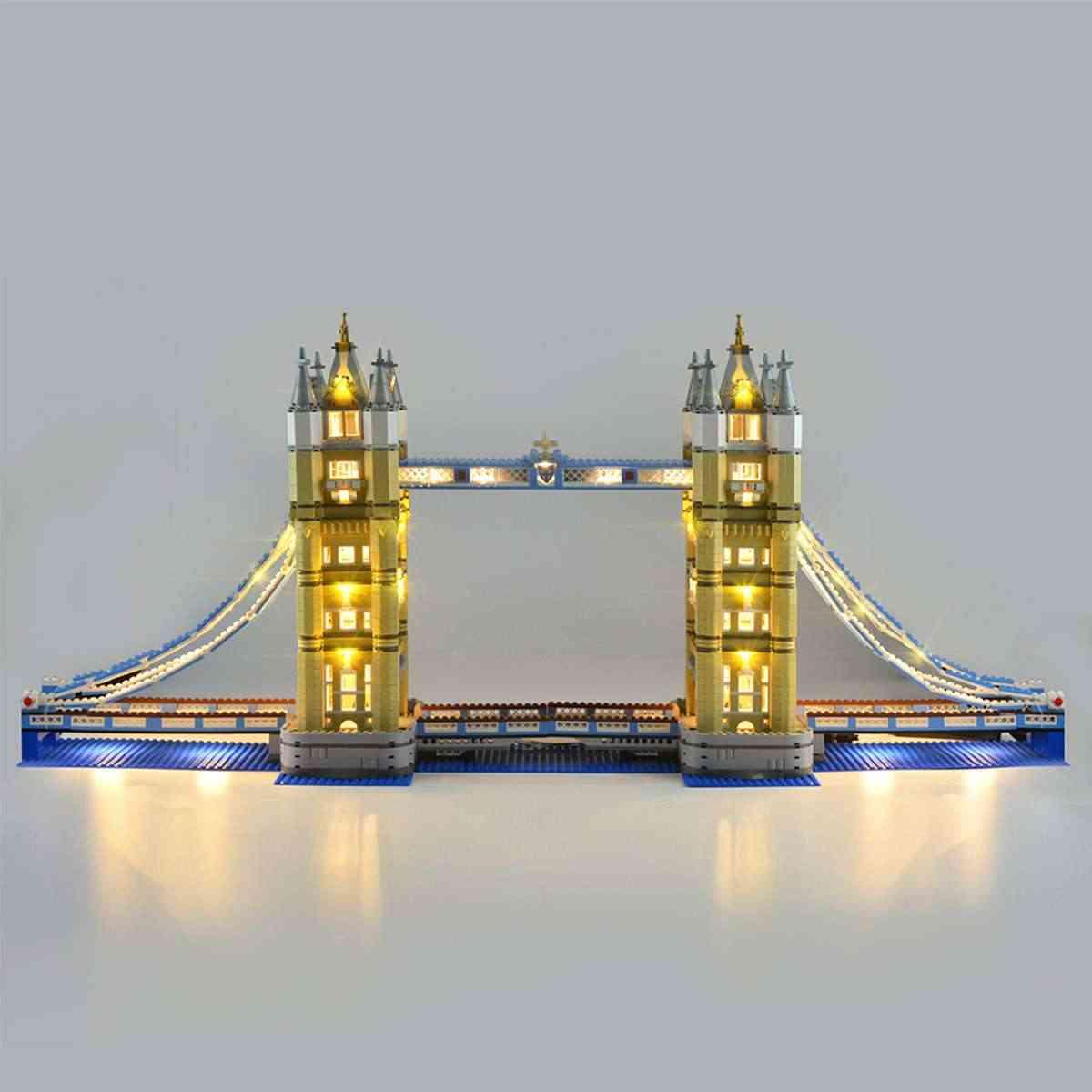 LED Light Kit for Lego 10214 London Tower Bridge Building Blocks Toys Bricks
