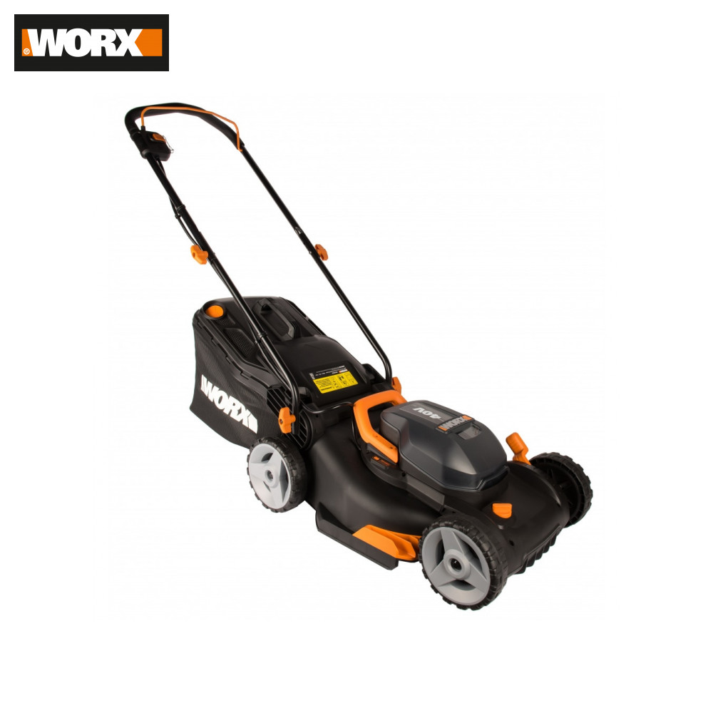 Lawn Mower Worx WG743E.9  Tools Garden Tool Power Automatic Mow Grass Shearing Lawnmower Lawnmowers Lawns Mower Electro Rechargeable For Lawns Rechargeable Wireless