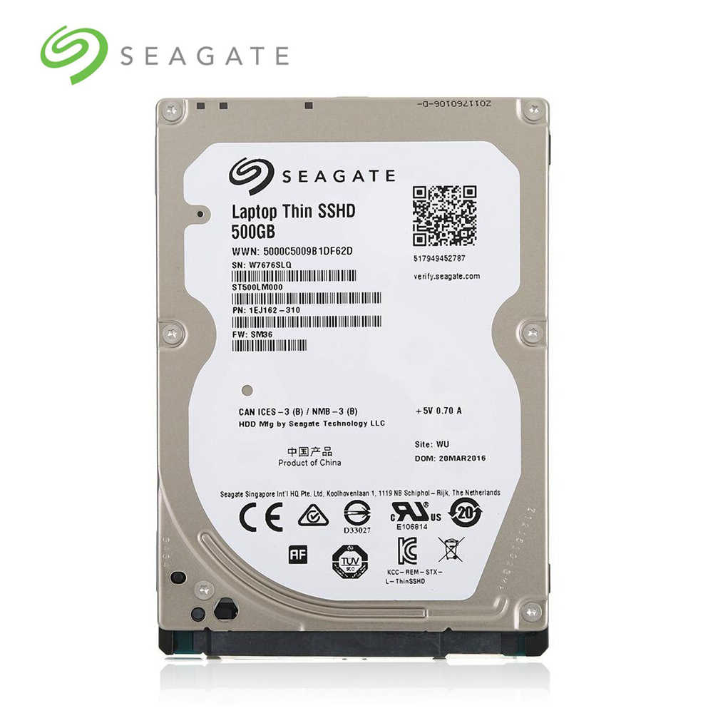 "Seagate מותג מחשב נייד מחשב 2.5 ""120GB 160GB 250GB 320GB 500GB 1TB SATA 3.0 gb/s-6.0Gb/s קשה כונן 6 MB/16 MB 5400 סל""ד-7200 סל""ד"