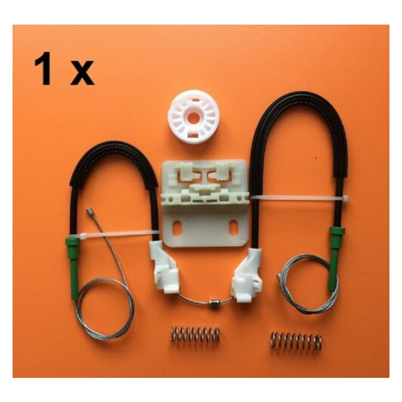 For Land Rover Freelander Window Regulator Repair Kit With Cables- Rear Left(97-06)