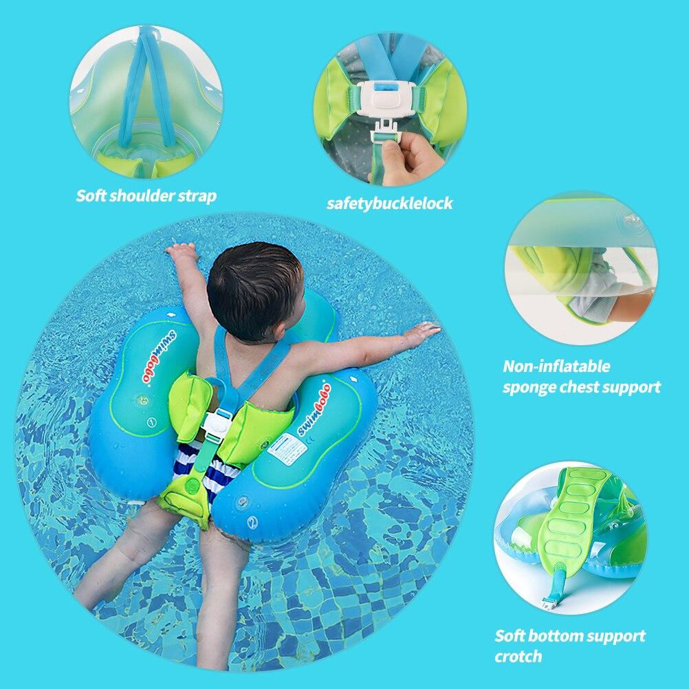 Новые обновления, детский Плавающий поплавок, надувные плавающие Аксессуары для детского бассейна, круглые летние игрушки для купания, кольца для малышей 6