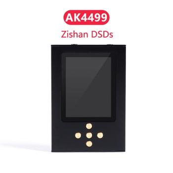Zishan DSDs AK4499 Version Professional Music Player MP3 DAP AD8620 MUSES02 HIFI Portable 2.5mm Balanced AK4499EQ 4499