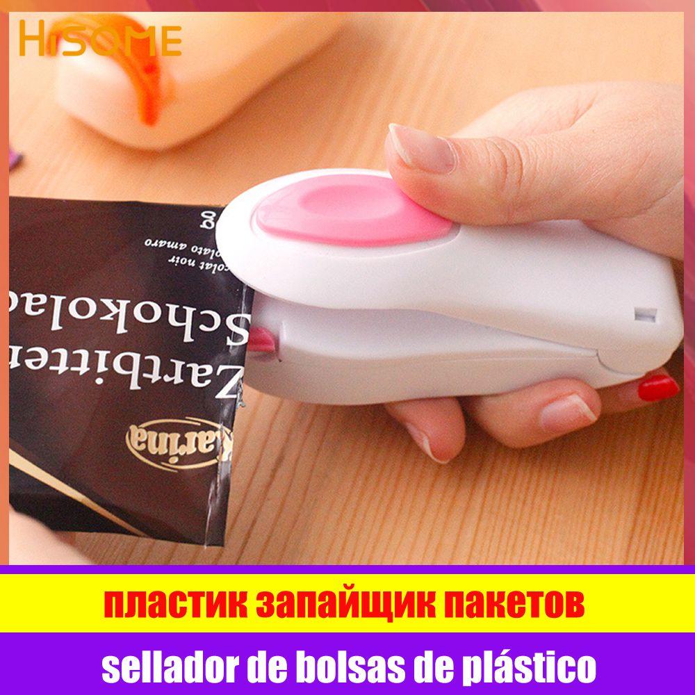 Aferidor do calor portátil saco de plástico pacote de armazenamento mini máquina selagem aferidores acessíveis fácil resealer para alimentos lanche cozinha gadgets