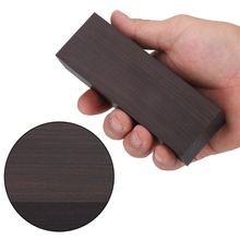 African Ebony Lumber Knife Handle Material Wood Blanks Guitar Parts 120*40*25mm