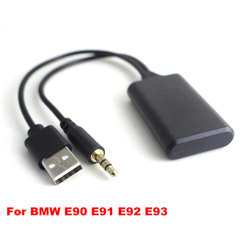 Car Bluetooth Radio AUX Cable Adapter Professional for BMW E90 E91 E92 E93 image