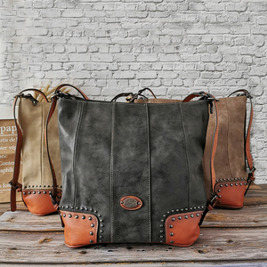Image 5 - 2019 Female Vintage Luxury Genuine Leather Bags for Women Large Capacity Women Tote Bags Big Shoulder Bag Purses and Handbags