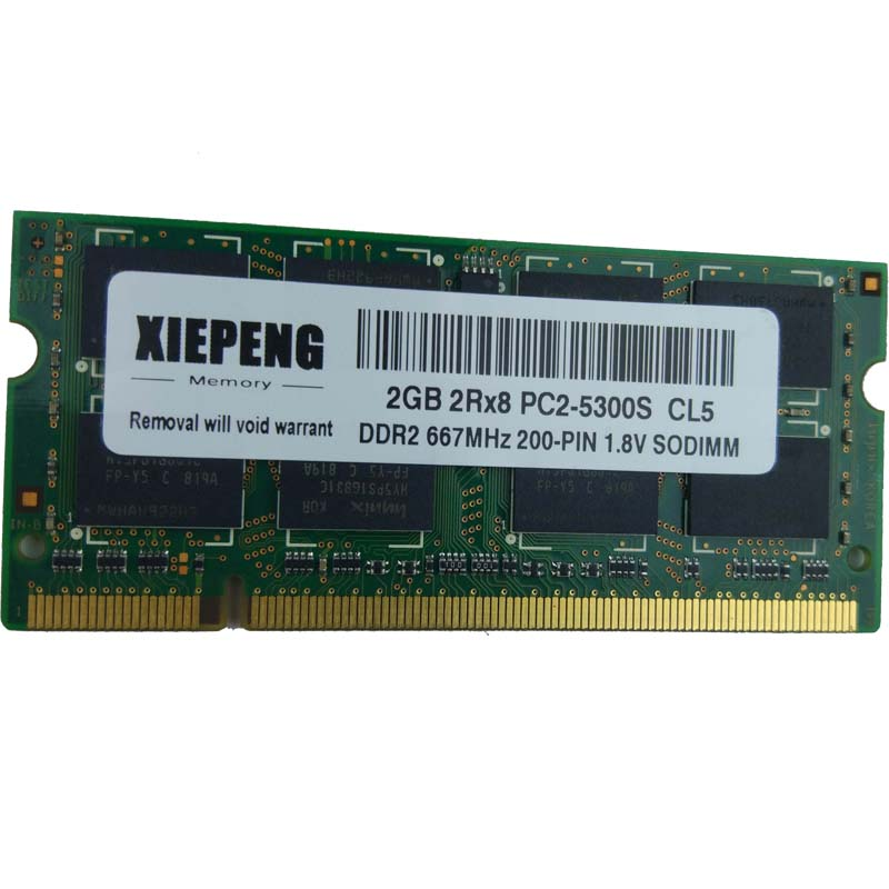 Laptop RAM 4GB 2Rx8 PC2-5300S DDR2 2G 667MHz 5300 For Acer Aspire 5532 5534 5538 TravelMate 5520 6292 5730 6292 Notebook Memory