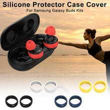 Silicone Protector Case Cover Shell Protective Kits For Samsung Galaxy Buds Bluetooth Earphones Decorative