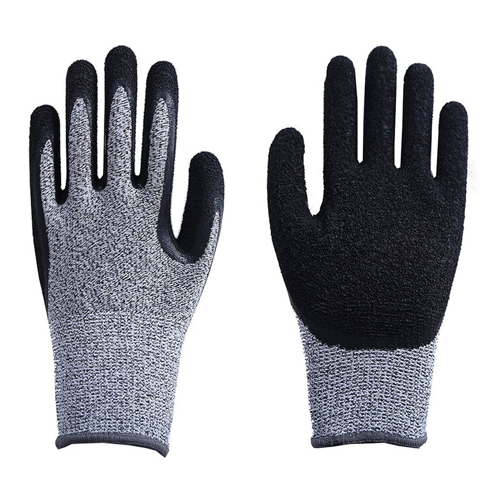 High-strength Grade Level 5 Protection Safety Anti Cut Gloves Kitchen Cut Resistant Gloves For Fish Meat Cutting Safety Gloves