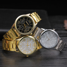 Relogio Feminino 2019 Geneva Famous Brand  Luxury Womens Watches Women Business Quartz Wrist Watch Female Ladies Watch Clock