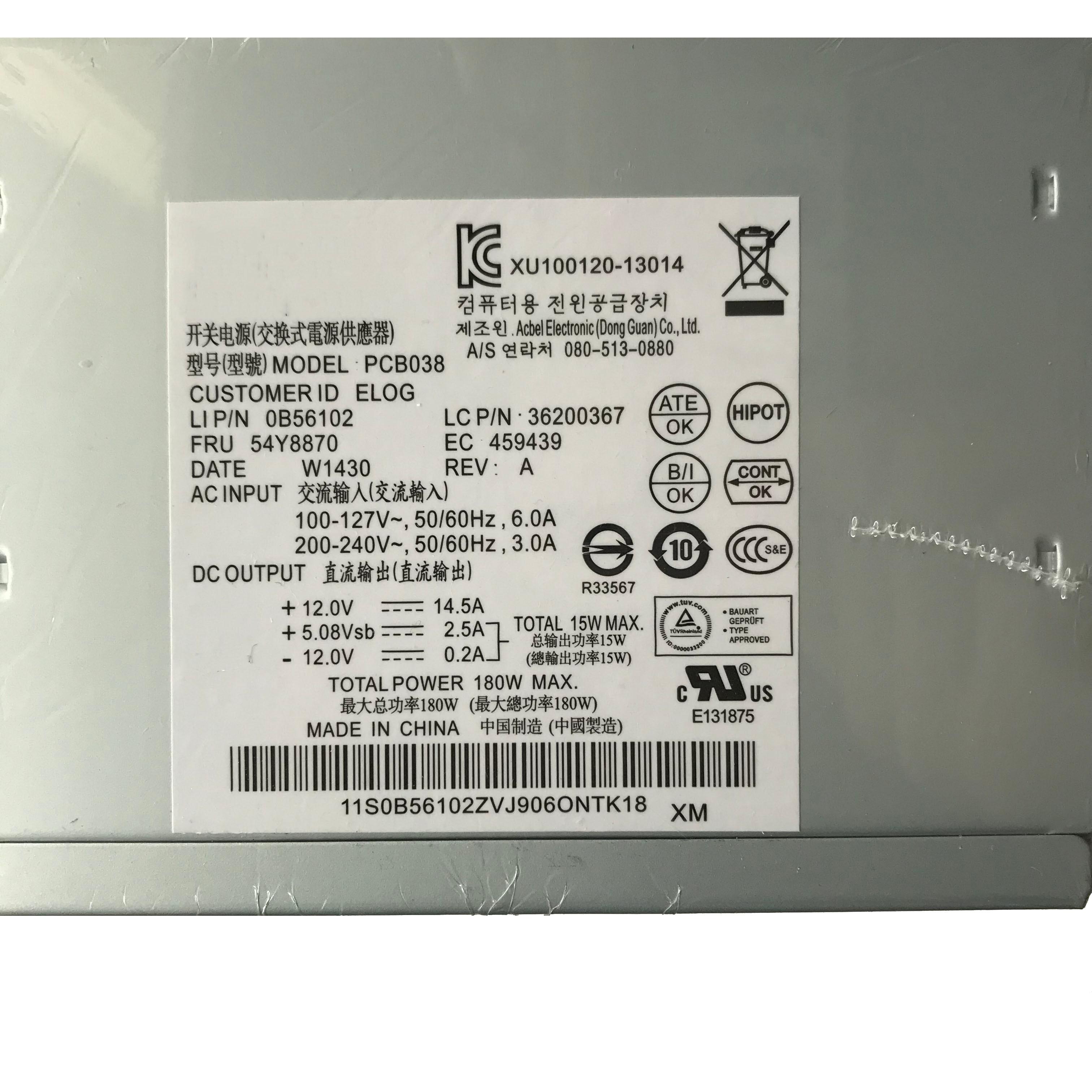 Power Supply HK280-23FP HK280-25FP PCB037 PCB038 Power Supply for Lenovo NS