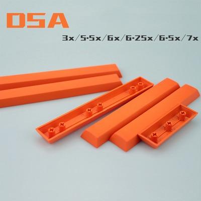 1pc DSA Profile PBT 3U 5.5U 6U 6.25U 6.5U 7U Spacebar For MX Switch Mechanical Keyboard Space Key Cap 3X 5.5X 6X 6.25X 6.5X 7X
