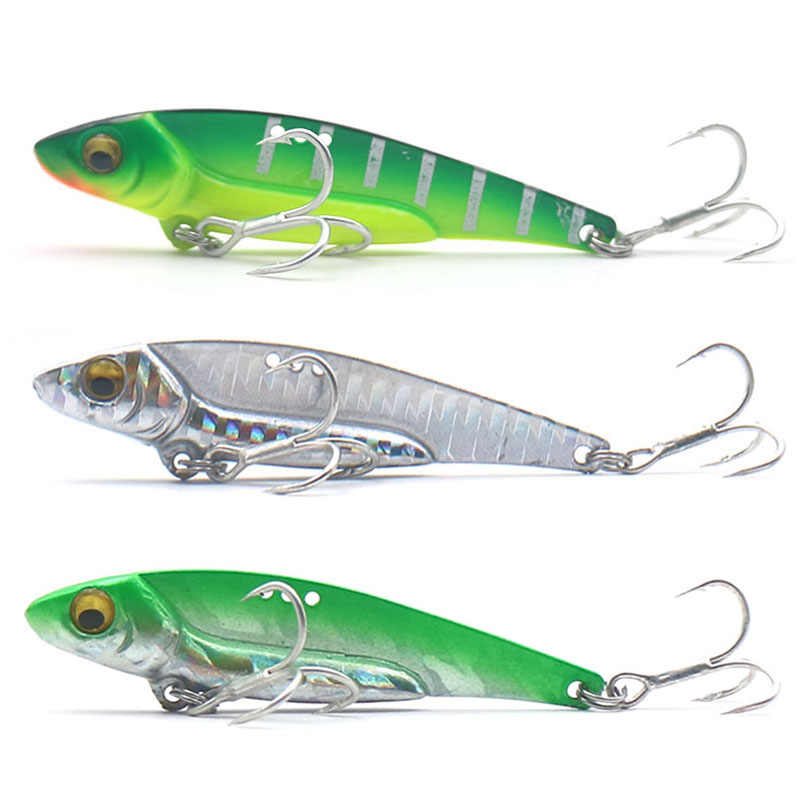 HISTOLURE 1Pcs Metal VIB Lures 5g 8g 13g 16g 20g Vibrations Spoon Lure Fishing bait Bass artificial bait cicada lure vib bait