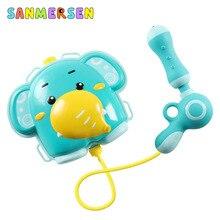 Летний игрушечный водяной пистолет, рюкзак для мальчиков и девочек, Водяные Пистолеты, детские игровые распылители для воды, пляжные игрушки для детей, детские игрушки