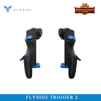 Flydigi Trigger 2 Mobile Game Button COD Auxiliary Six-Finger Artifact iOS Android PUBG High-Speed Shoot Automatic Pressure Gun