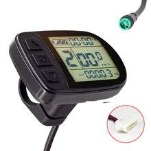 Wyświetlacz Ebike 24V 36V 48V KT wyświetlacz LCD5 rower elektryczny Kunteng KT inteligentny wyświetlacz panelu sterowania dla roweru elektrycznego