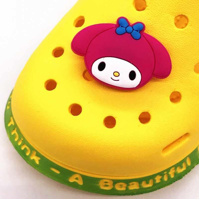 1 Chiếc Hoạt Hình Siêu Bánh Mì Siêu Người Giai Điệu PVC Giày Quyến Rũ Khóa Phù Hợp Với Ban Nhạc Vòng Tay Croc Jibz Giày Phụ Kiện Trẻ Em quà Tặng