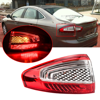 DWCX Car Auto Left Outer Tail Rear Light Lamp Fit for Ford Mondeo Hatchback 2011 2012 2013 2014 2015
