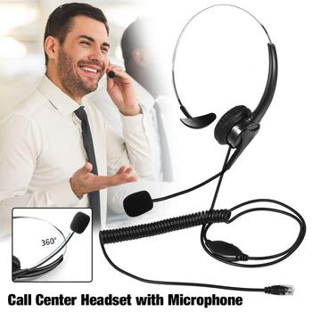 For Call Center Single-Sided USB Headset With Mic Telephone Operator Headphone Noise Reduction HD Earphone For Customer Service blueskysea 3pcs lot usb stereo headset earphone telephone headphone with mic for computer laptop