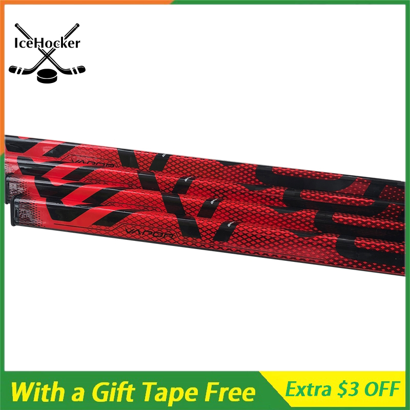 NEW VAPOR Series Ice Hockey Sticks 2X FlyLite 380g Light Weight Carbn Fiber Ice Hockey Sticks With A Free Tape Free Shipping