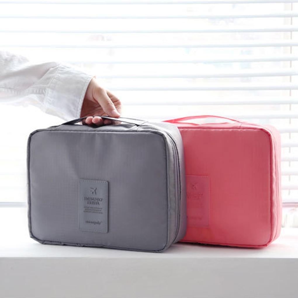 Multifunction Travel Cosmetic Bag Women Waterproof Cosmetic MakeUp Bag Travel Wash Organizer For Toiletries Toiletry Kit