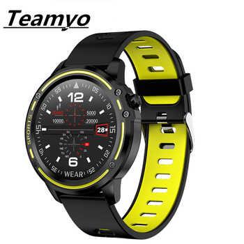 Teamyo Fitness Tracker EKG + PPG Blutdruck Herz Rate IP68 Wasserdichte Fitness Band Smartwatch frauen Touchscreen Sport Gesundheit