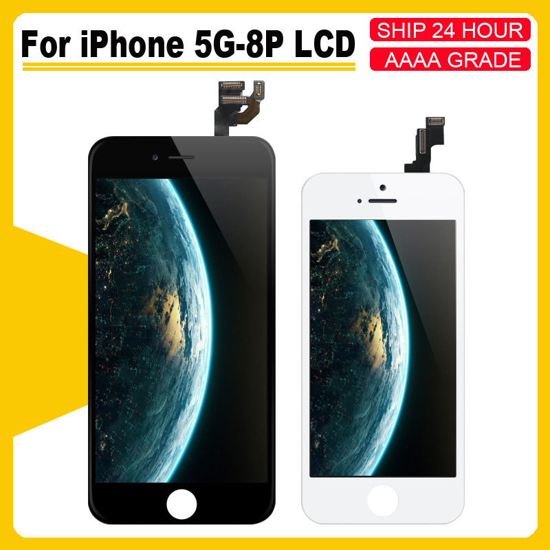 AAAA++++ For iPhone 5 5S 5C 6 6S 6P 6SP LCD with perfect 3D Digitizer MOUNT with Touch Screen for iPhone 4S 7 8 7P 8PLUS Display(China)