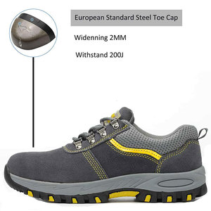 Image 2 - SUADEEX Steel Toe Cap Work Shoes Outdoor Construction Boots Male Female Puncture Proof Safety Shoes Industrial Working Sneakers