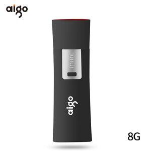 Image 2 - Aigo yazma koruması usb flash sürücü anti virüs kalem sürücü 8GB usb bellek veri kilidi usb memoria usb pendrive cle usb