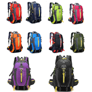 Image 5 - Men 40L unisex waterproof backpack travel pack  Hiking sports bag pack Outdoor Climbing Mountaineering Camping backpack for male