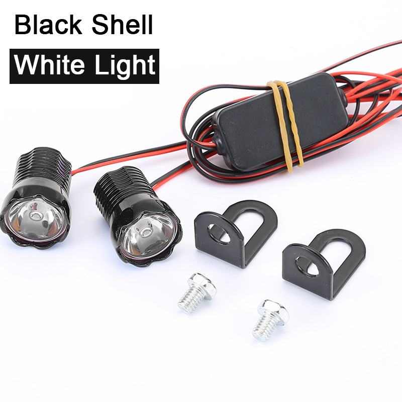 2pcs Waterproof Eagle Eyes bulbs 22mm DRL Eagle Eyes Led Headlights DRL Light motorcycle Eagle Eye LED lamp Accessories|  - title=