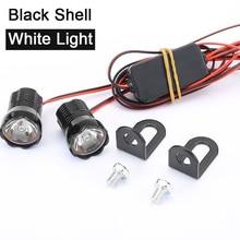 2pcs Waterproof Eagle Eyes bulbs 22mm DRL Led Headlights Light motorcycle Eye LED lamp Accessories