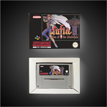 Lufia II 2 Rise of the Sinistrals - EUR Version RPG Game Card Battery Save With Retail Box 1