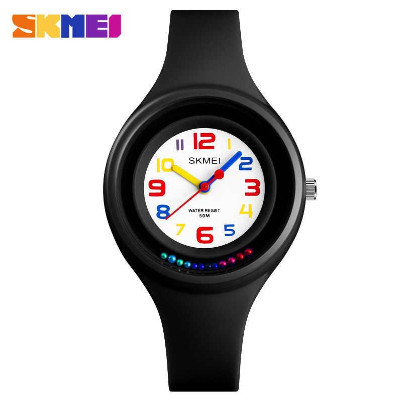 SKMEI брендовые Детские часы 2019 модные повседневные студенческие часы для девочек и мальчиков милые Мультяшные водонепроницаемые часы для детей